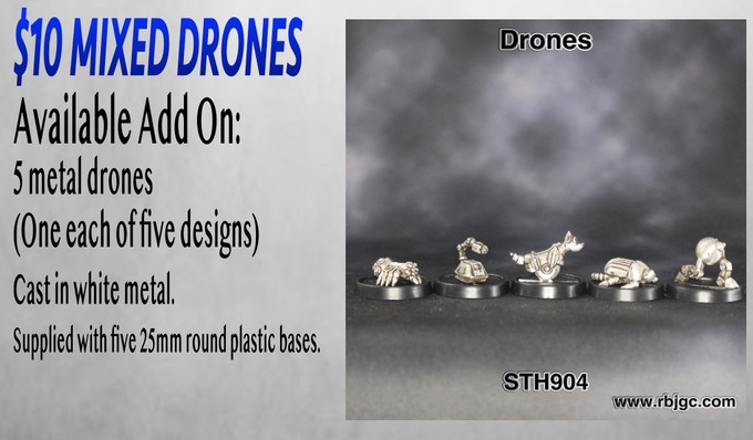$10 MIXED DRONES ADD ON