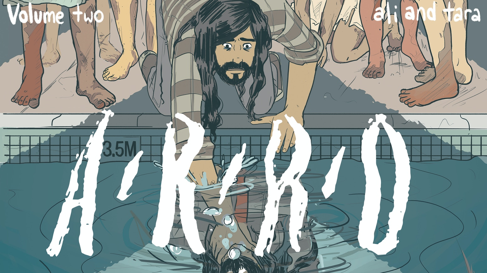 A full-color graphic novel that includes issues four and five, plus three mini chapters of ARRO, a post-apocalyptic adventure story.