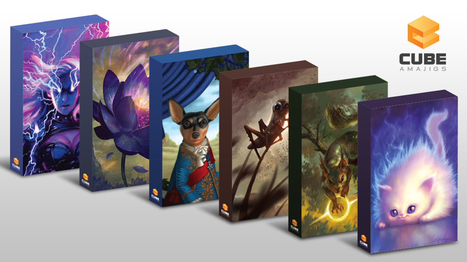 Cubeamajigs: Reusable Gaming Packs by Hit Point Press — Kickstarter
