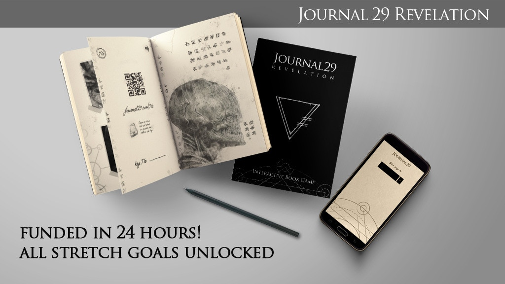 Journal 29 Revelation: Interactive Book Game project video thumbnail