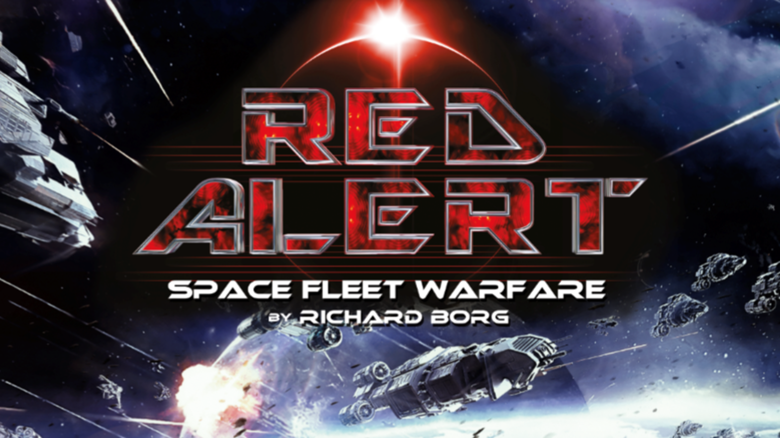 Richard Borg's Red Alert: Space Fleet Warfare board game
