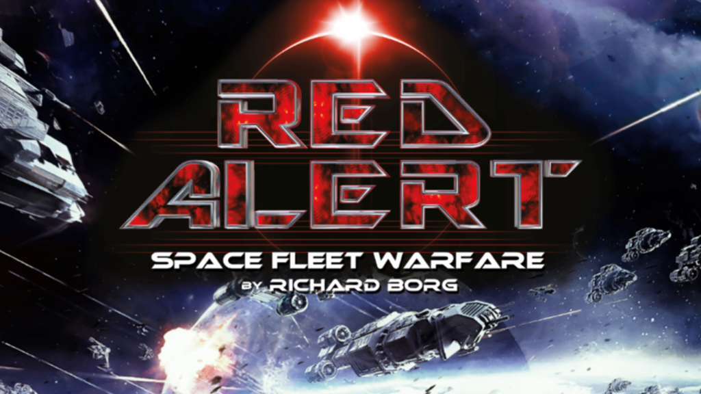Richard Borg's Red Alert: Space Fleet Warfare board game project video thumbnail