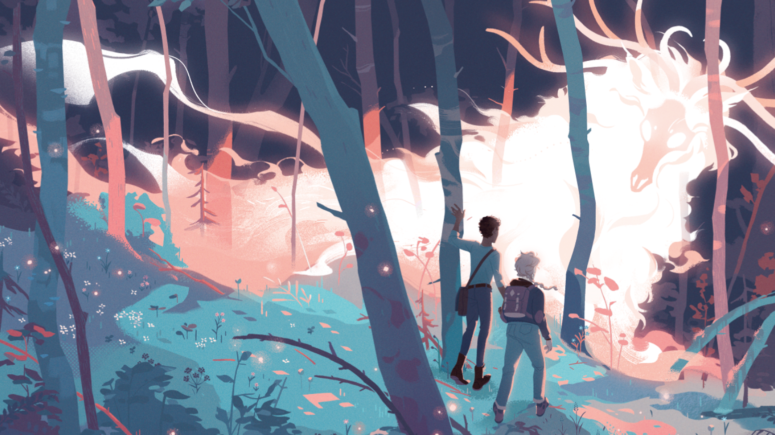 The first comics anthology devoted to non-binary creators & characters (and enchanted forests)!