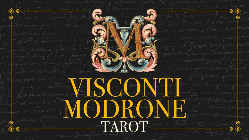Visconti Modrone Tarot miniatura de video del proyecto
