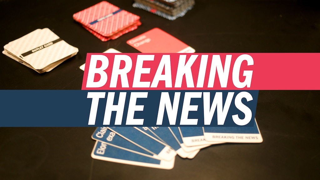 Breaking the News: A Card Game about Media and Journalism