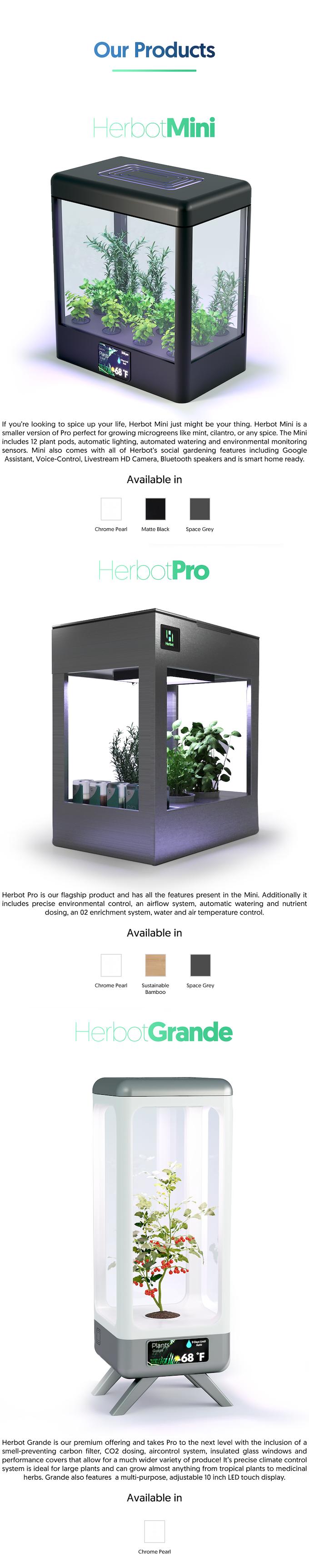 Herbot: Automatic Indoor Gardening Robot by farm 4 0 — Kickstarter