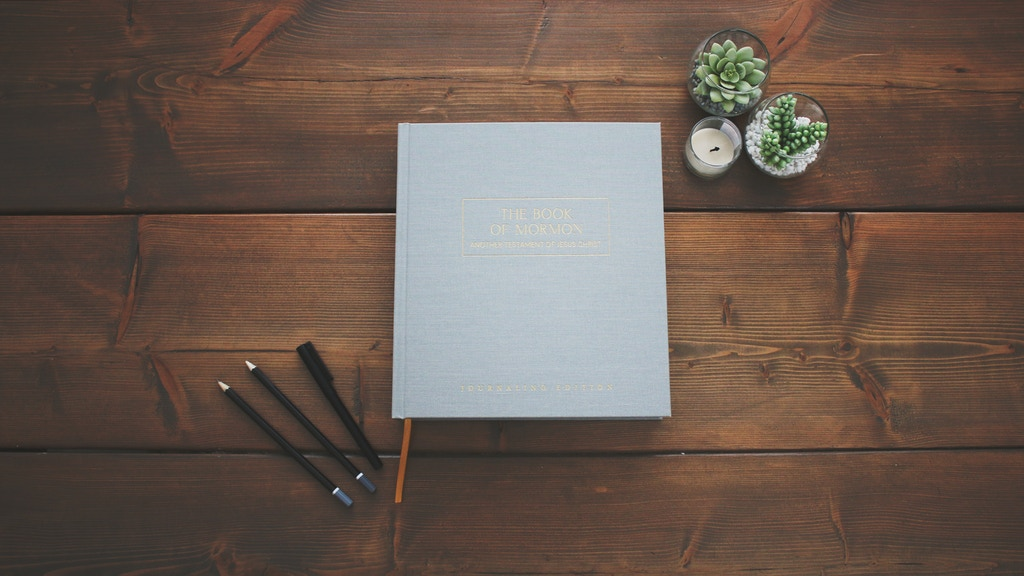 The Book Of Mormon: Journaling Edition project video thumbnail