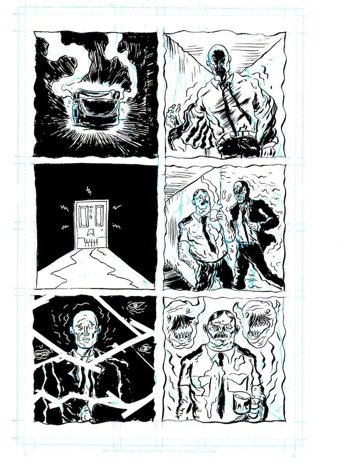 Original Art Reward: Page Eleven