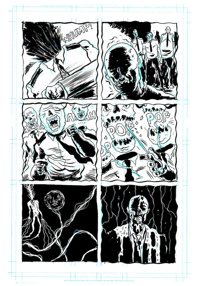 Original Art Reward: Page Twelve