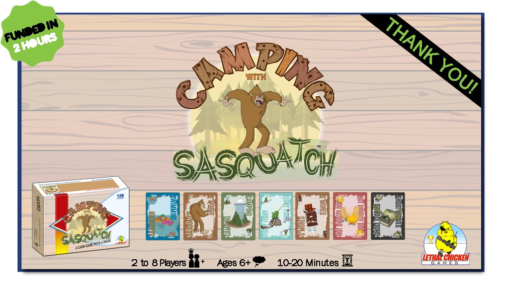 Camping with Sasquatch | A CARD GAME WITH A ROAR project video thumbnail
