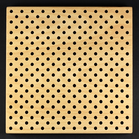 The final version of the board with Cartesian coordinate system with 265 holes. This is what you will get.