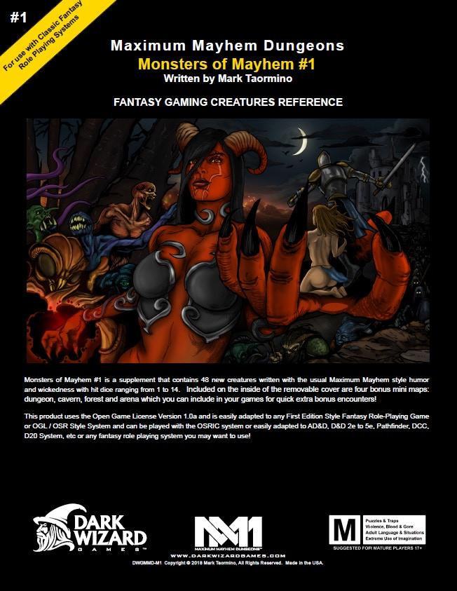 Maximum Mayhem Dungeons #5: Palace of the Dragon's Princess by Mark