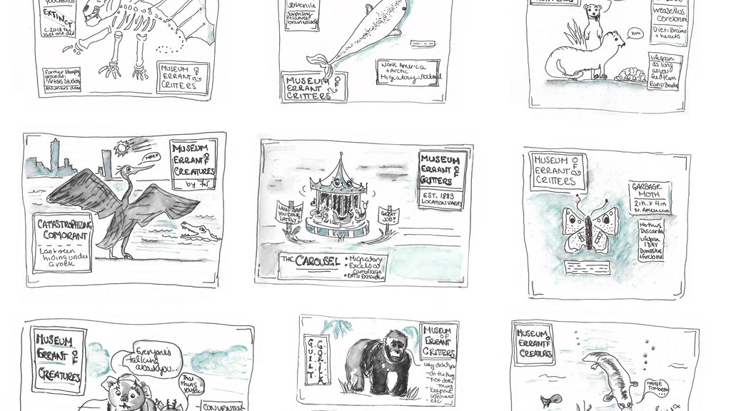 Museum of Errant Critters vol. 1 project video thumbnail