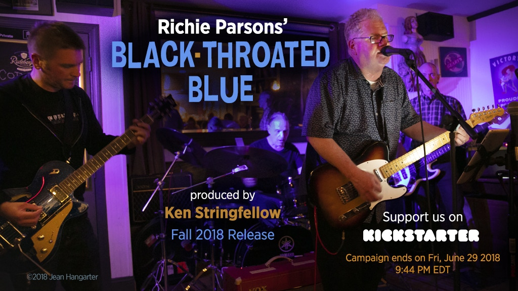 """Richie Parsons' New Album, """"Black-Throated Blue"""" project video thumbnail"""