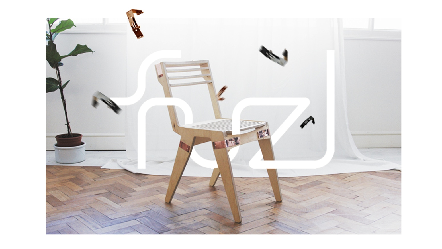 A Range Of Self Embly Furniture That Clips Together With No Tools