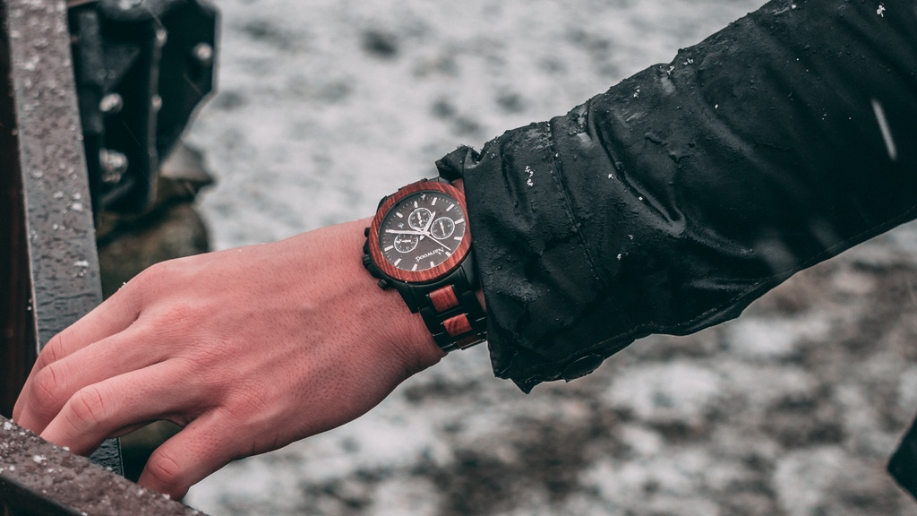 Nature inspired wooden watches for a sustainable future