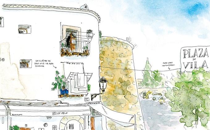 Ibiza Ilustrada by Bernat Moreno