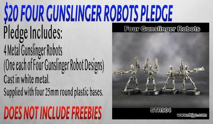 $20 GUNSLINGER ROBOTS PLEDGE