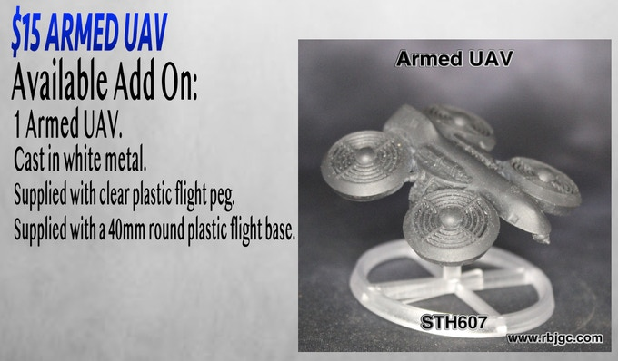 $15 ARMED UAV ADD ON