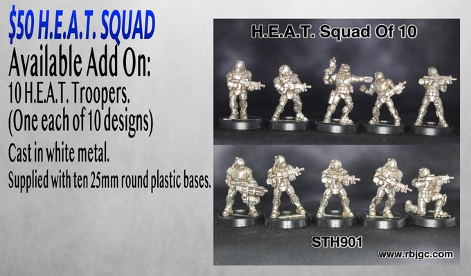 $50 H.E.A.T. SQUAD ADD ON