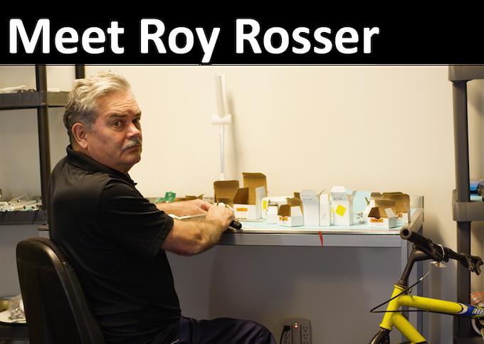 Roy in his Princeton workshop