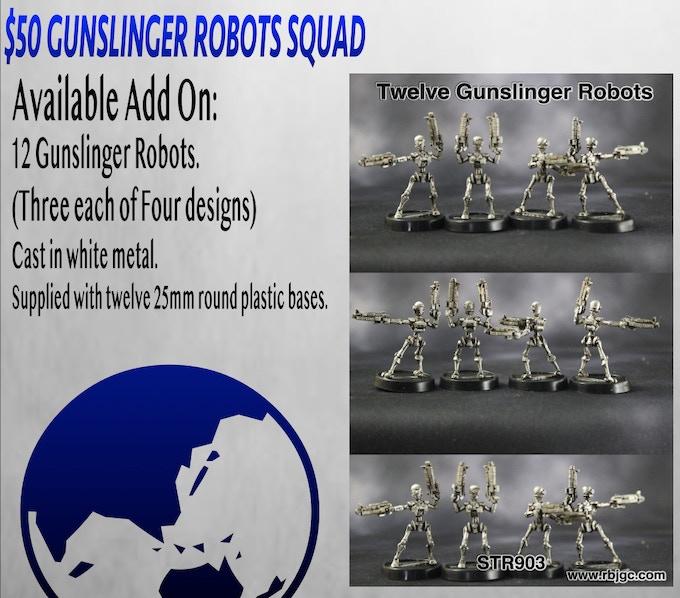 $50 GUNSLINGER ROBOTS ADD ON