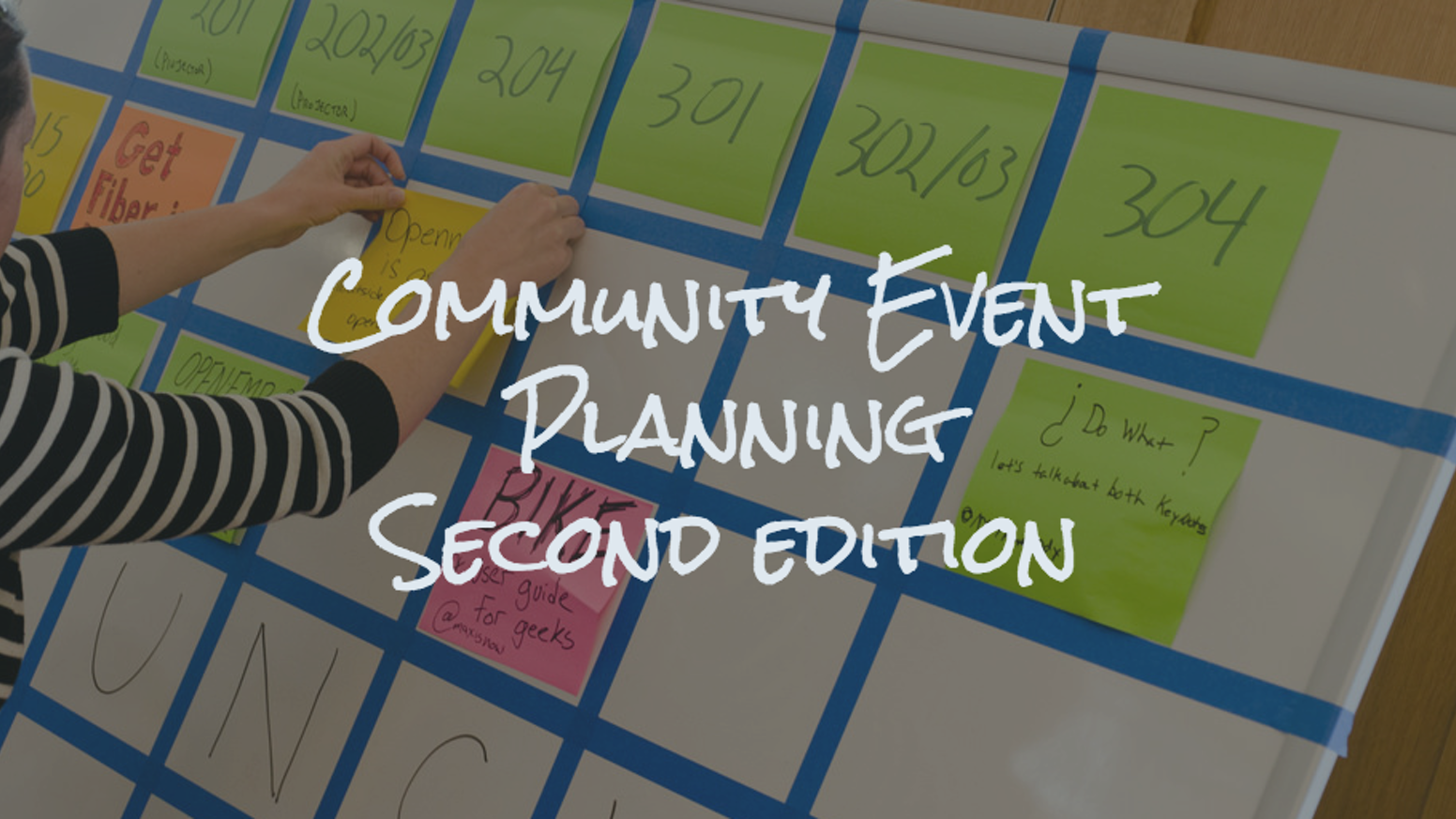We're publishing an expanded and updated version of our guide to running community-focused conferences, with new material on diversity.