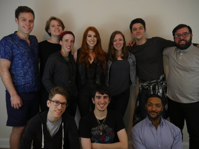 (Top row, left to right) Michael, Lily, Robin, Savannah, Nell, Taylor, Vin (Bottom row, left to right) Chris, Lee, Langston