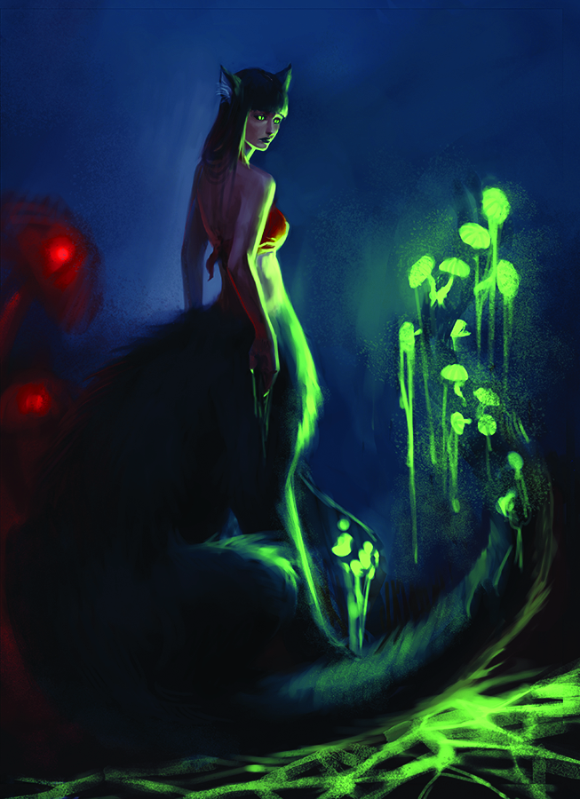 Neon, Mother of the Wasteland Children, Leader of the Fusion Born, and Caretaker of the Feral.