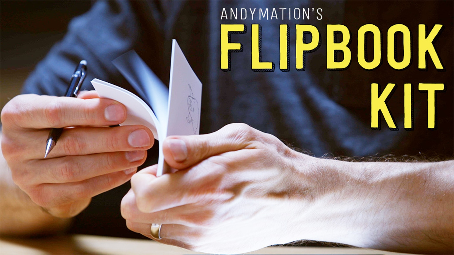 Make your own amazing flipbook animations with Andymation's Flipbook Kit!