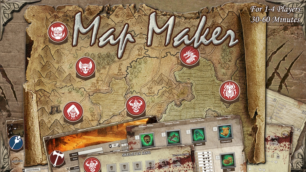 Map Maker physical edition project video thumbnail