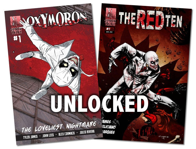 Plus you'll get digital copies of 'Oxymoron' and 'The Red Ten' delivered to your inbox.