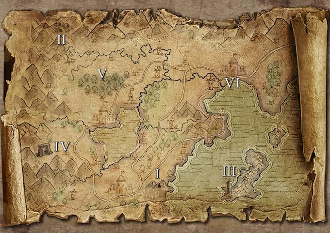Wild map
