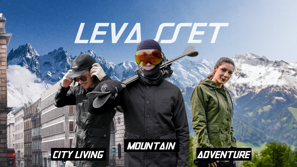 Levasset - The Ski Jacket Reinvented