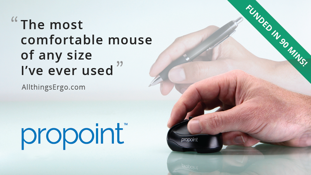 ProPoint™ Mouse & Presenter. iPad/PC/Mac, office or travel.