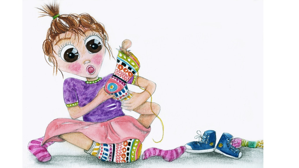 """""""If I Had Eleven Toes"""" Children's Book project video thumbnail"""