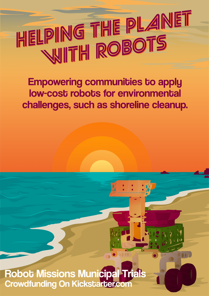 Robot Missions Municipal Trials Poster