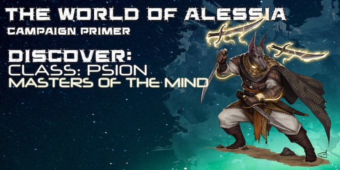 World of Alessia Campaign Primer for 5e D&D & Starfinder by