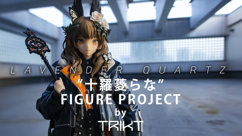 "LM7 & Black★Rock Shooter Creator ""十羅菱らな"" Figure Project project video thumbnail"