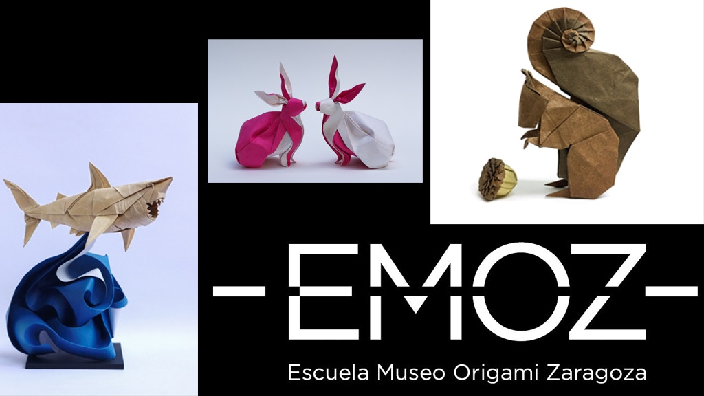 Escuela Museo Origami Zaragoza (EMOZ) - Origami Museum project video thumbnail