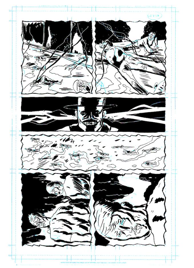 Original Art Reward: Page Sixteen