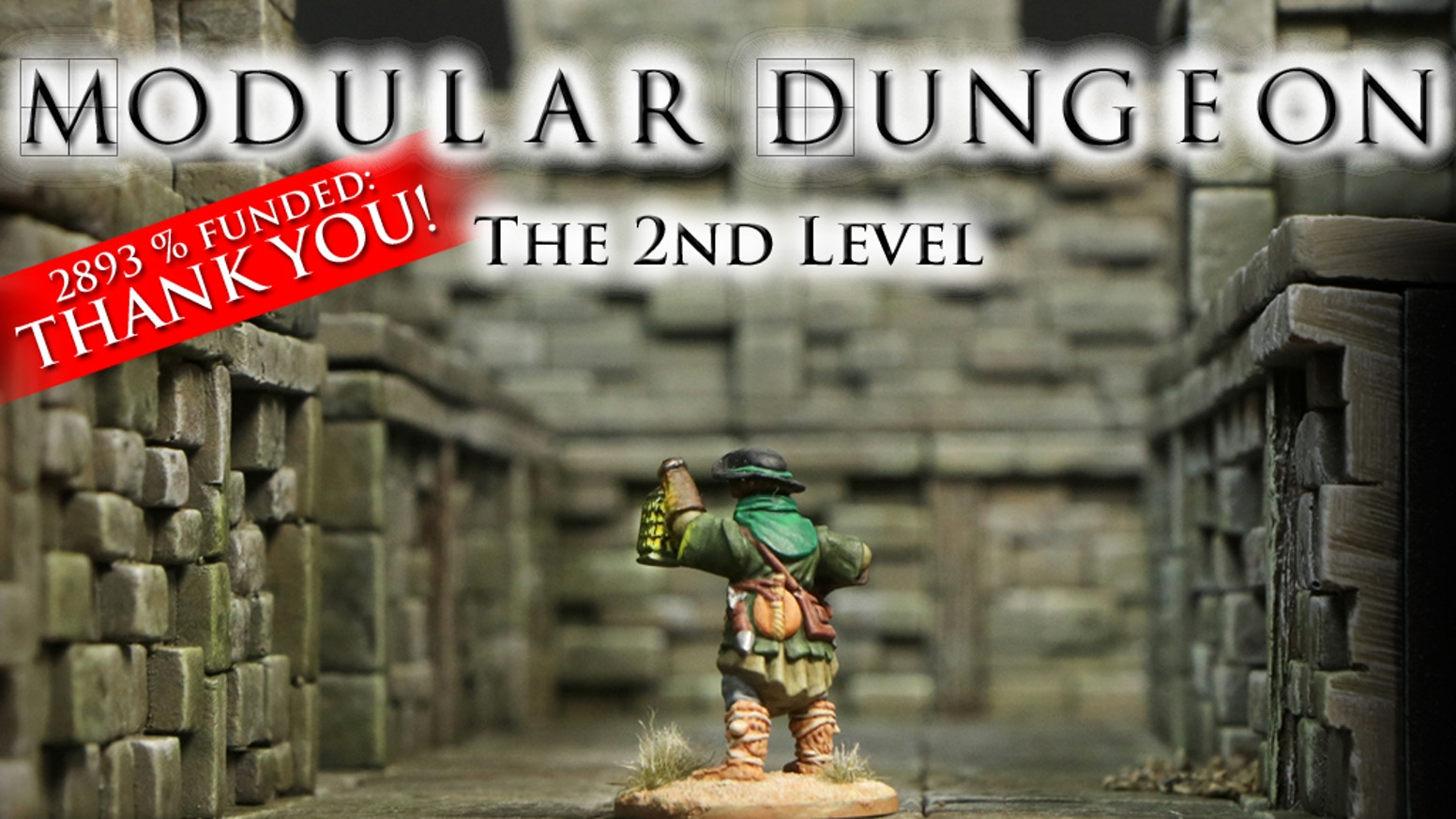 MODULAR DUNGEON is a 3D construction kit to bring all your dungeon ideas to life. Extend them now with brand-new designed add-ons!