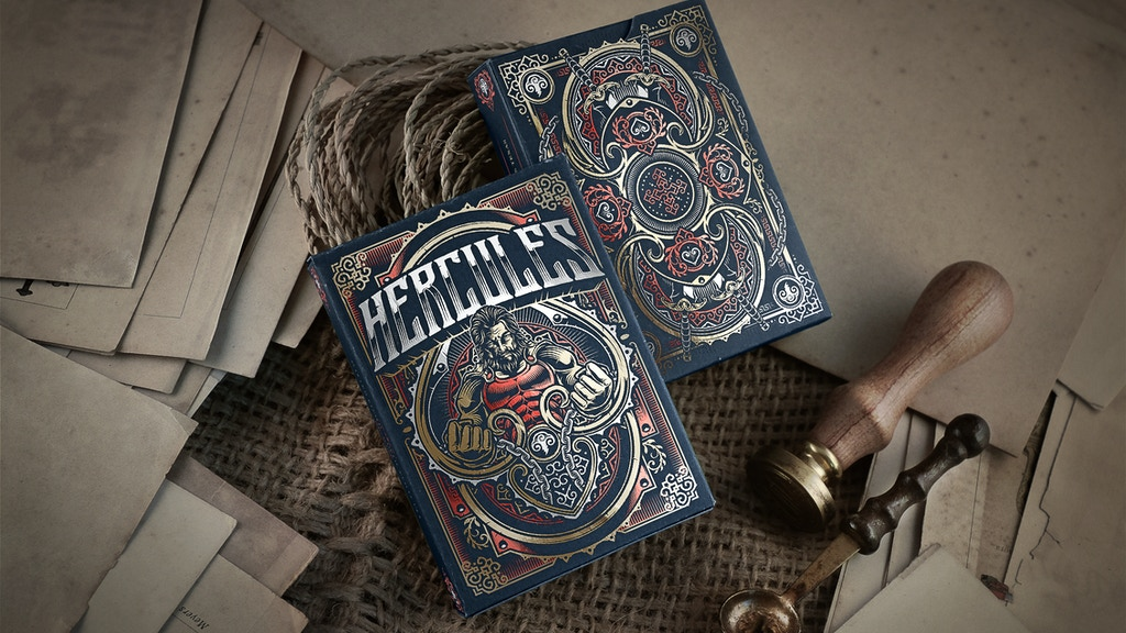 Bicycle® Hercules Playing Cards Deck project video thumbnail