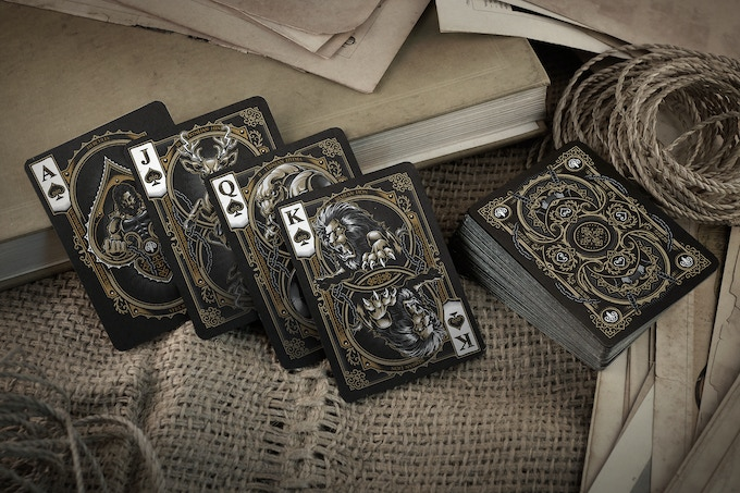 Bicycle Hercules Playing Cards (Spades)
