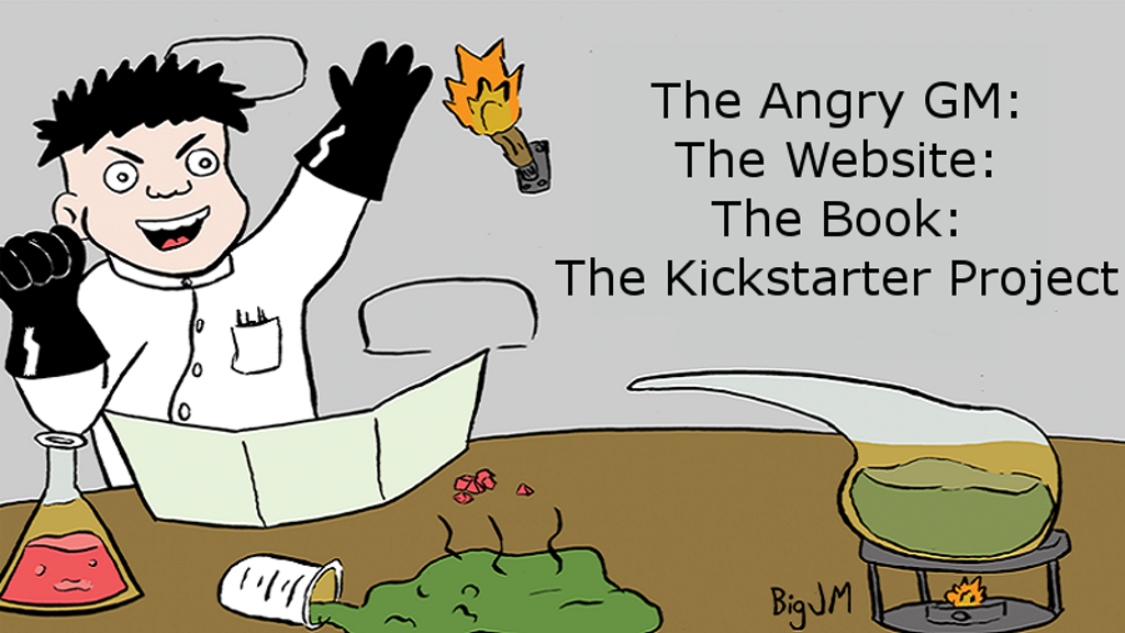 The Angry GM: The Website: The Book project video thumbnail