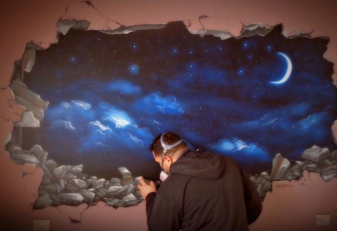 Mural The Night