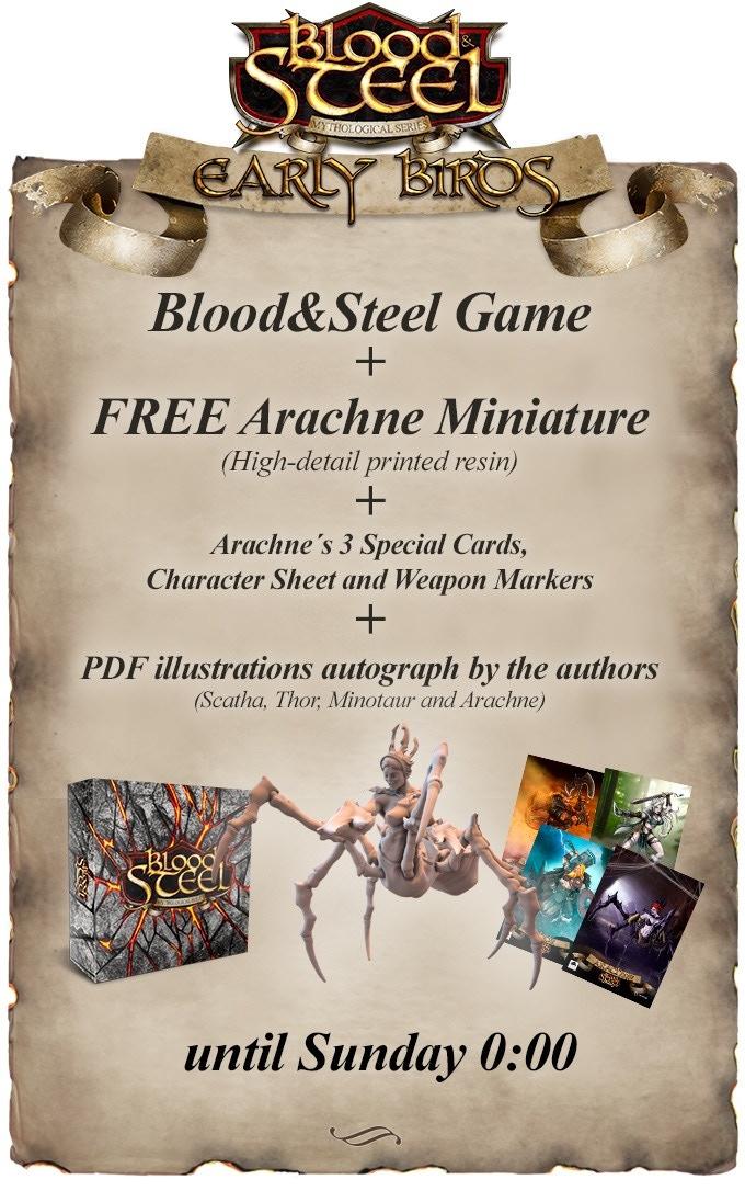 Free Arachne Miniature