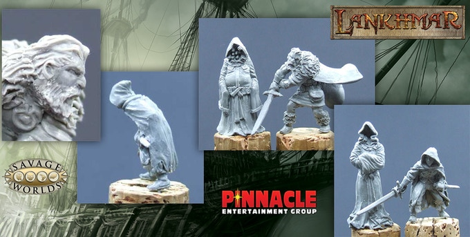 Sculpts by the amazing David Soderquist!