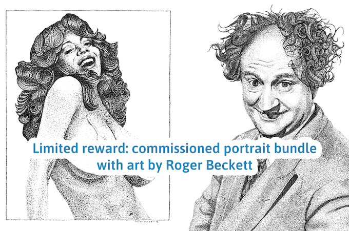 Roger Beckett's original artwork