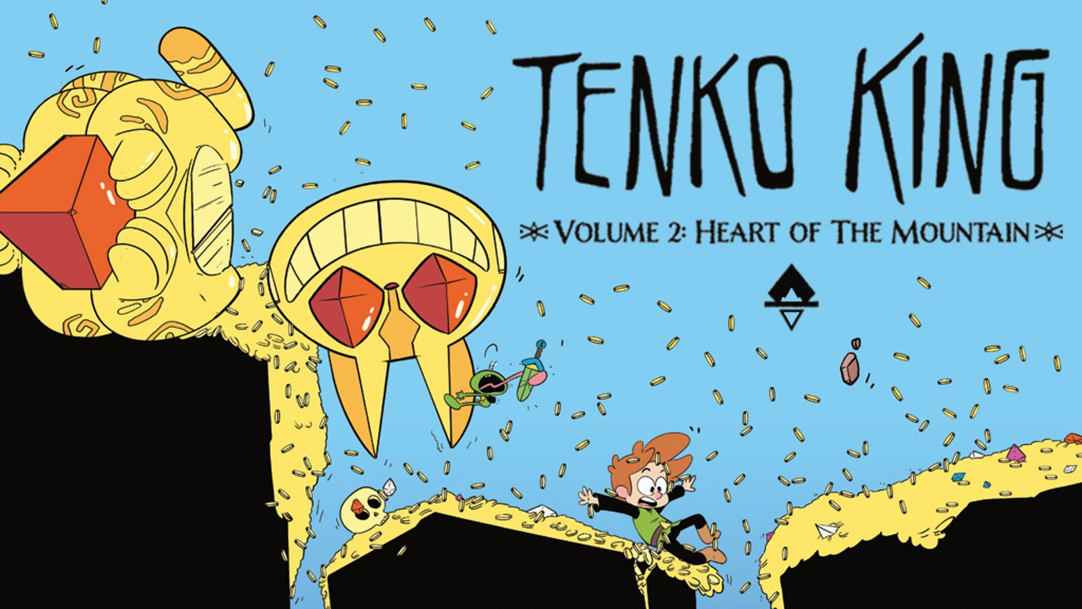 A High Seas Pirate adventure, Treasure, Trouble, Monsters & Magic! The next chapter in the Tenko King series.